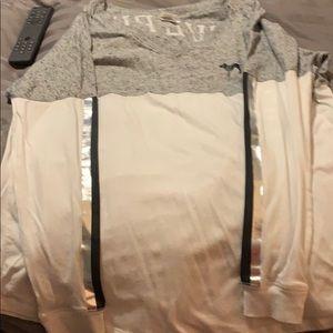 Long sleeve pink top